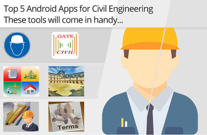 Top 4 apps for civil engineering students
