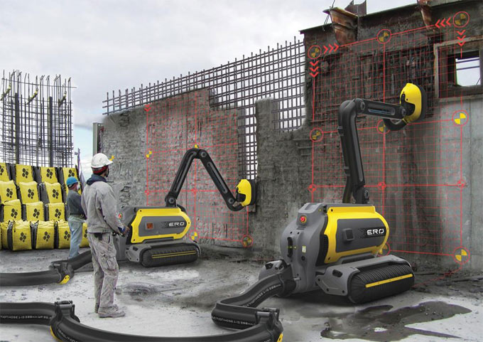 Some newest technology in the Construction Industry