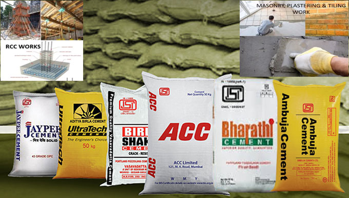 How to choose perfect brand of cement for house construction