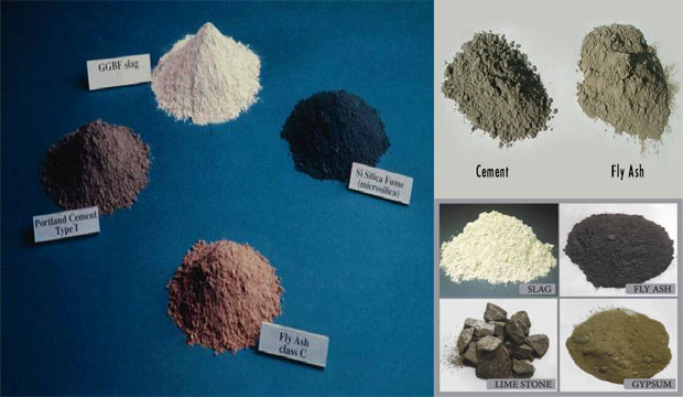 8 Major Cement Ingredients & their functions