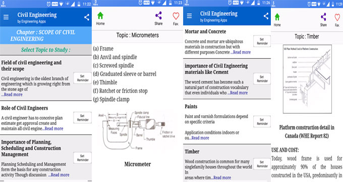 Civil Engineering – The newest construction app for engineering science students & professional