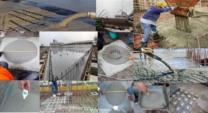 Different types of concrete admixtures