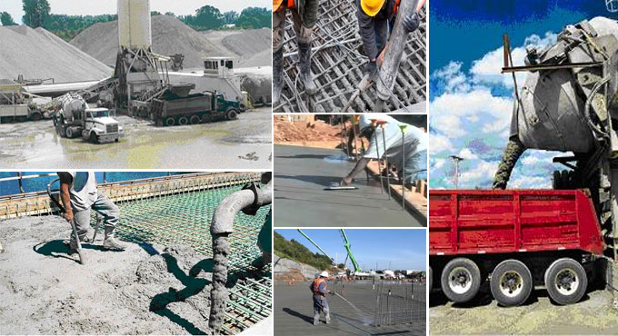 Common methods for concrete construction