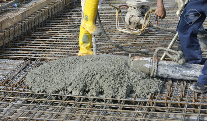 How to find out the required amount of concrete for construction work