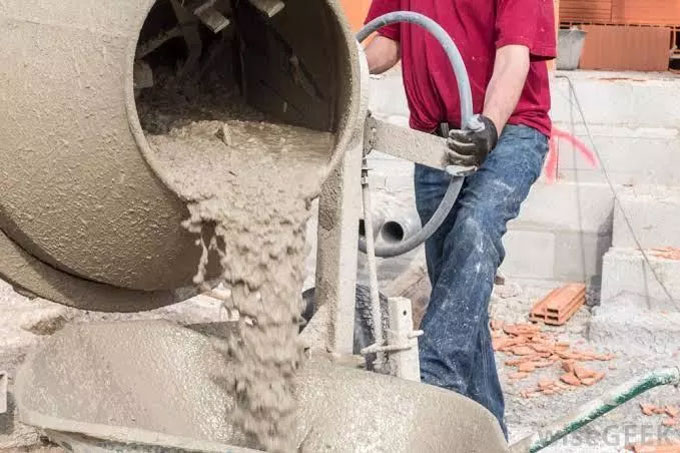How to measure concrete mix design