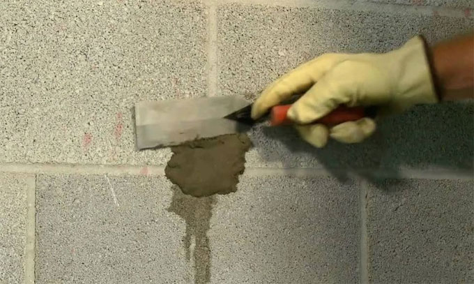 How to repair concrete with Dry Pack Mortar Method