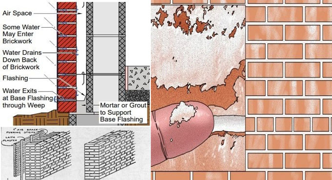 How to minimize efflorescence in fresh concrete masonry walls