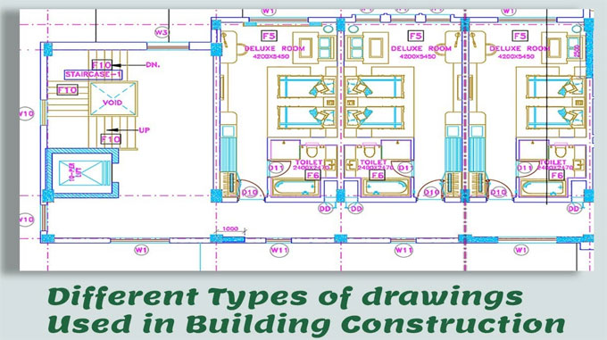 Construction Drawing Types In Building