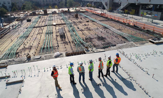Detail quality control methods in construction works
