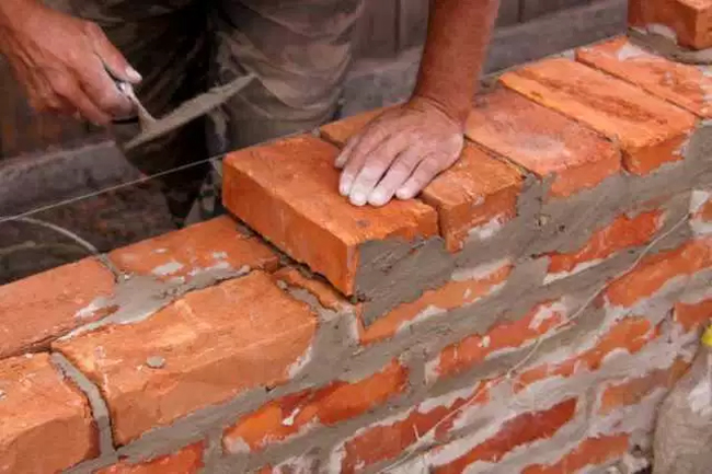 Reasons for defects in brick masonry