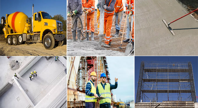 Some useful guidelines for the calculation of concrete costs