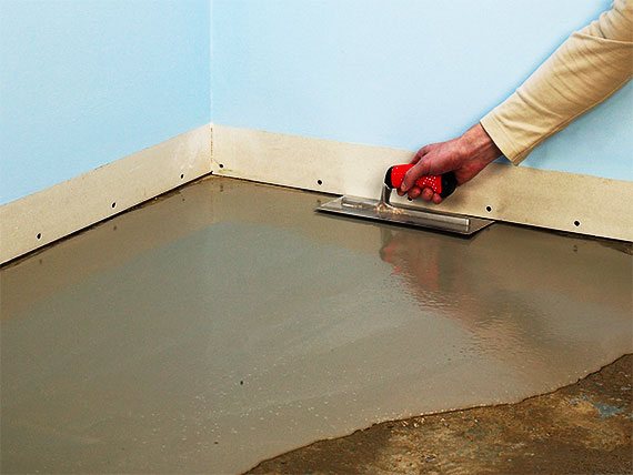 How to arrange Concrete Subfloor for laminate flooring installation
