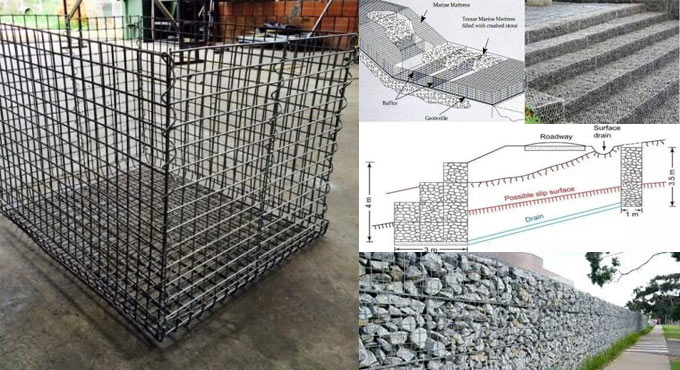Applications and benefits of gabions