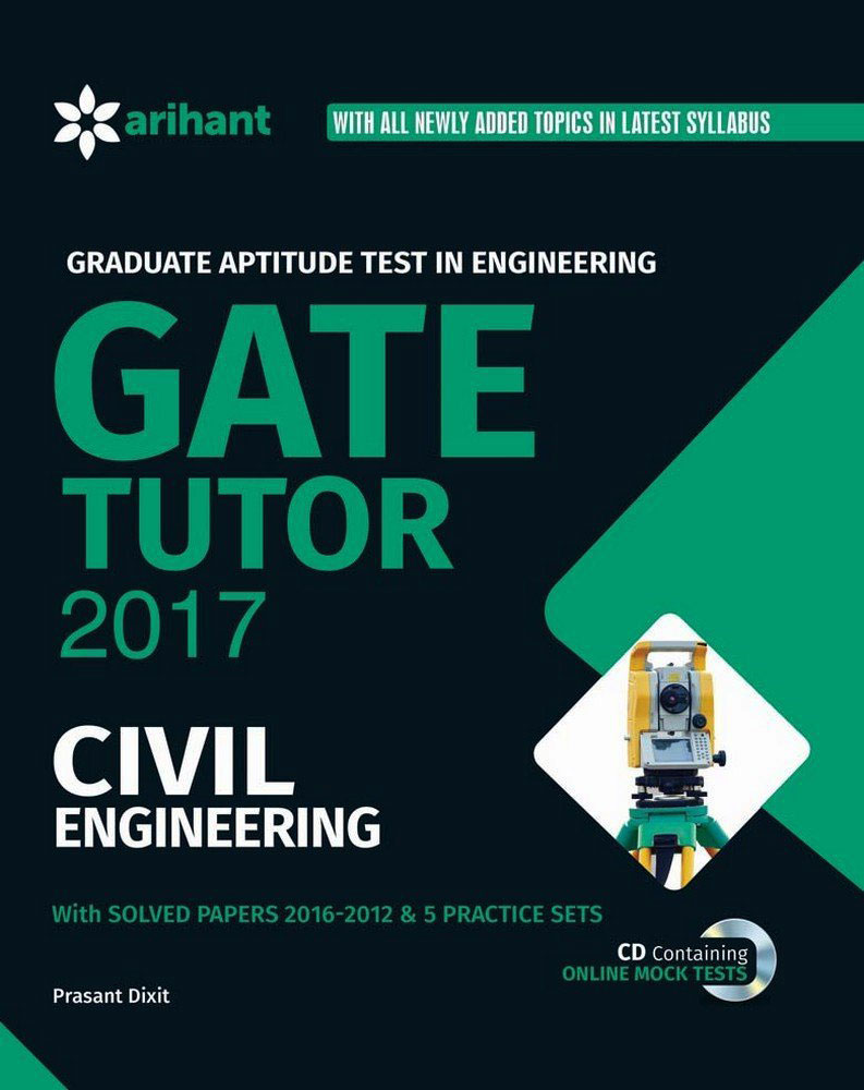 GATE Tutor 2017 Civil Engineering – An exclusive construction e-book