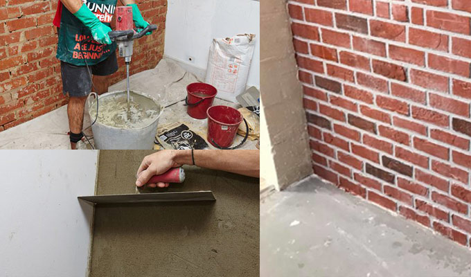 Step by Step Guide to Hard Plaster a Brick Wall