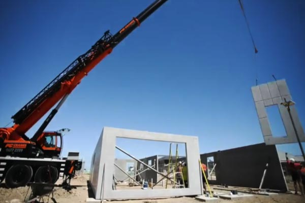 How To Build A Home In Just 8 Weeks With The Use Of Precast Concrete Panels