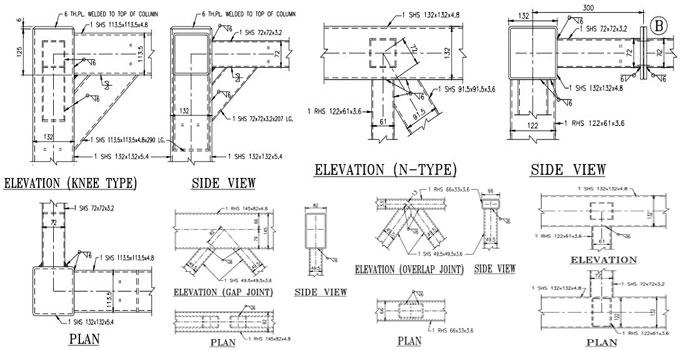 Joint Detailing of Steel Hollow Sections