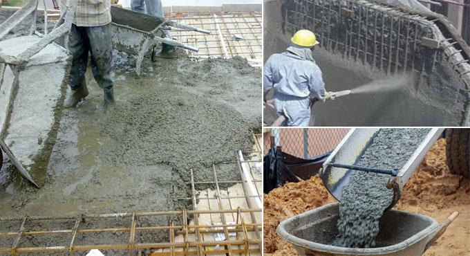 Advantages of microsillica in concrete