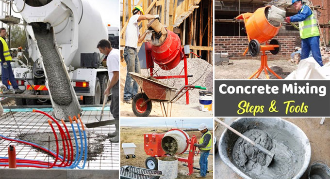 How to Mix Concrete Properly