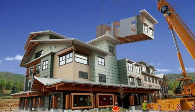 Various benefits of modular construction