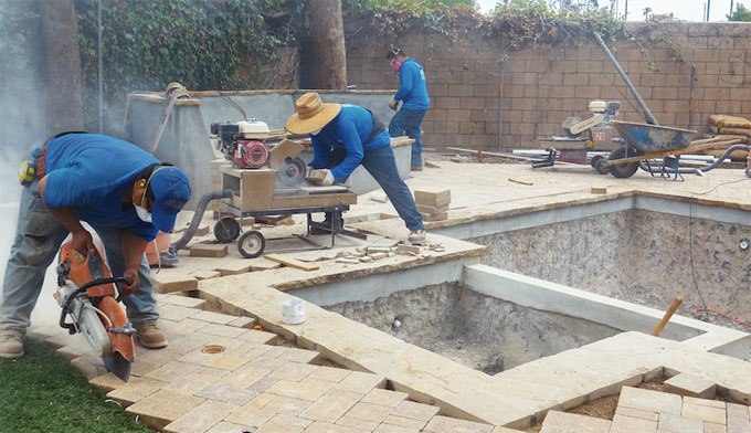 Why pouring concrete over present concrete slab is not recommended