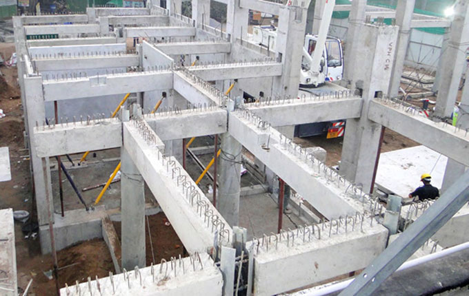 Advantages of Taracon Precast columns and beams