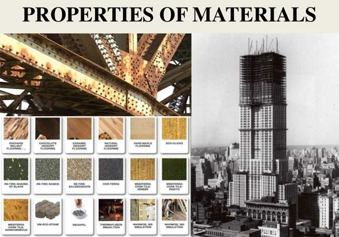 Mechanical properties of building materials