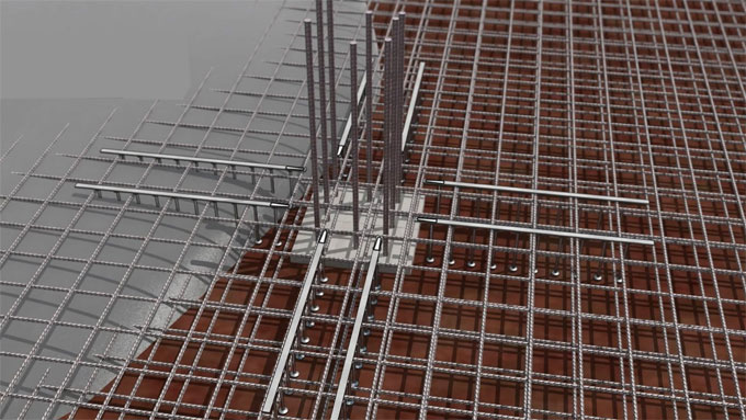 Overview of Peikko DSA Punching Reinforcement System for Cast-in-Place Concrete