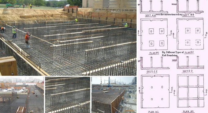 Some vital guidelines to build up a raft foundation