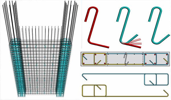 shear wall reinforcement details