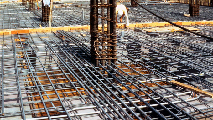 Important properties of reinforcing steel bars