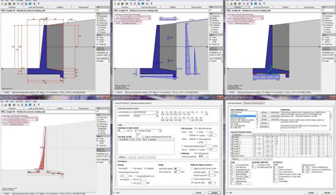 RetainWall version 2.60 – A powerful software for designing a concrete or masonry retaining wall