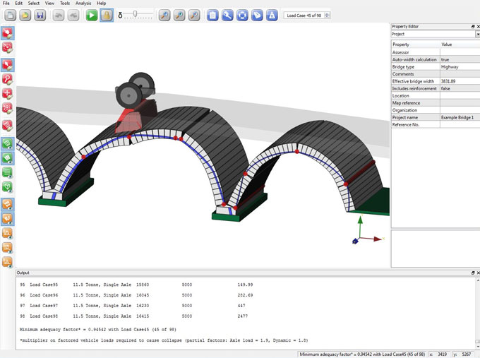 Ring 3.0 – A powerful software for bridge analysis and masonry design