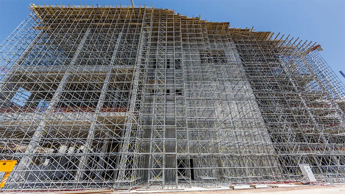 How to select perfect scaffolding material towers in construction project