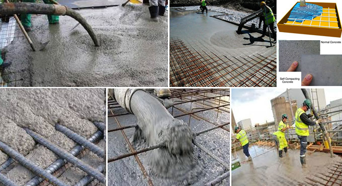 Properties and benefits of self compacting concrete