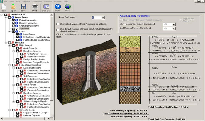 Shaft3D – A powerful software for foundation design and analysis