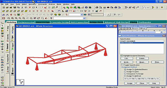 How to design a steel truss with Stadd.Pro Software