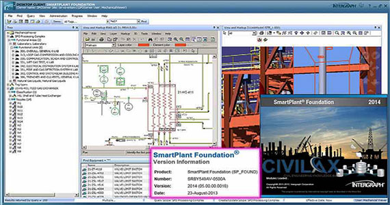 Intergraph SmartPlan Foundation 2014 - A useful construction program