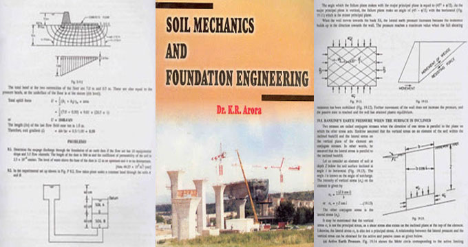 Soil mechanics and foundation engineering – An exclusive book for civil engineers