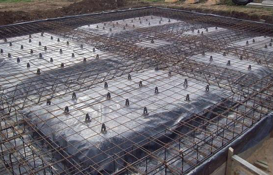 Some useful guidelines on steel bar overlapping in raft foundation