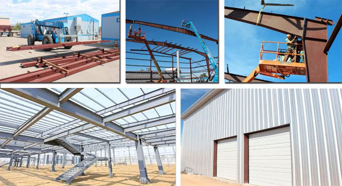 The benefits of steel buildings in construction industries