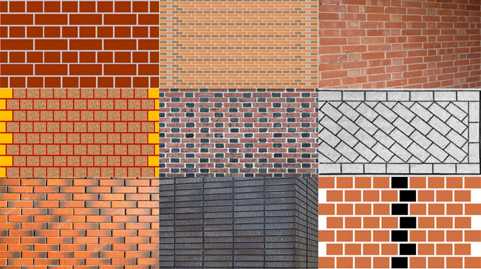 Brick Bonds Types And Patterns