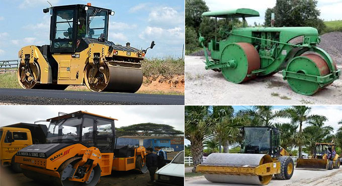 Types of rollers and their functionalities