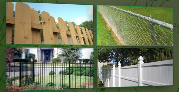 How to set up Wood Fence with posts and pickets
