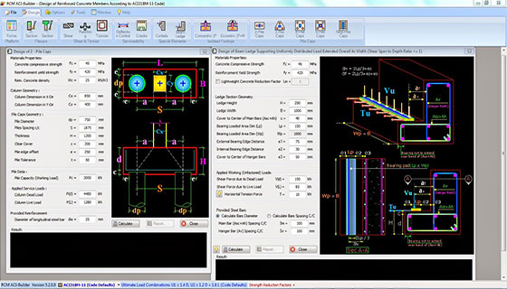 RCM ACI-Builder is a useful construction program for structural engineers