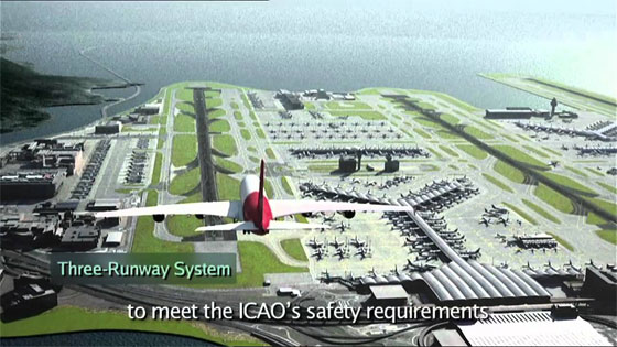 Megastructure International Airport Construction