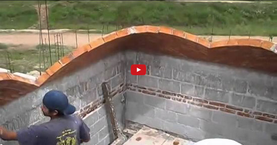 Bricklaying incredibly Construction