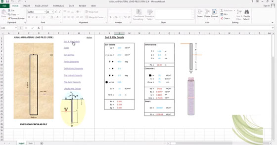 Civil & Structural Engineering Spreadsheet Toolkit