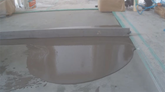 Some useful construction tips to level a concrete floor