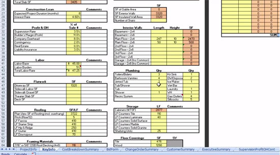 Useful video for beginners and advanced cost estimating for Building material list calculator